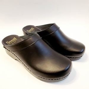 """New Mens SVEN by No. 6 Open Back Clogs 2"""" heel 45"""